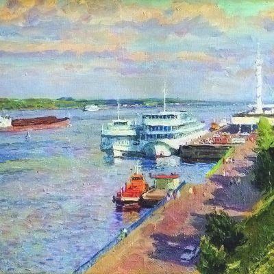 Ярославль на картинах