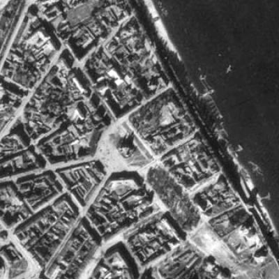 Аэрофотосъёмка 40-х